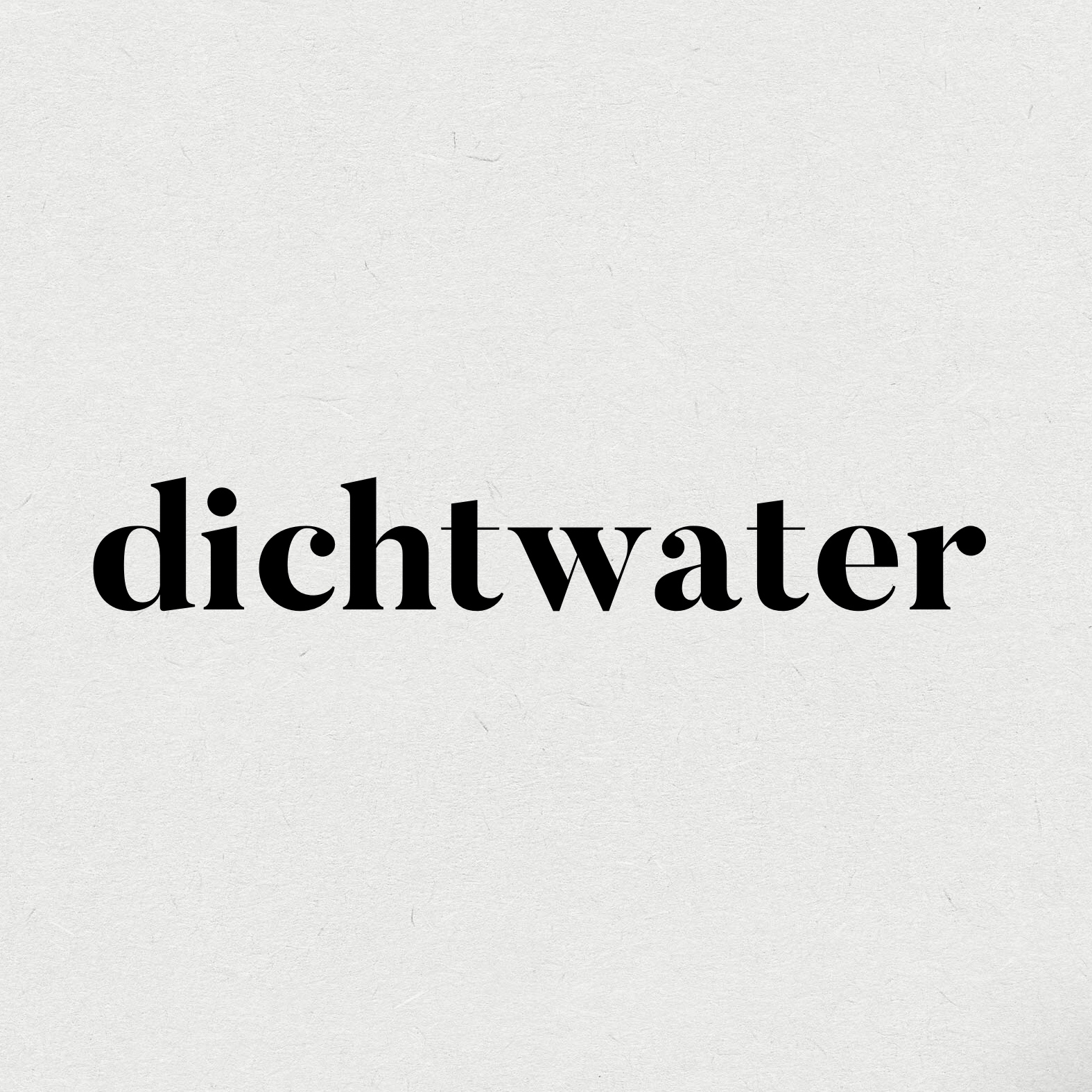 dichtwater